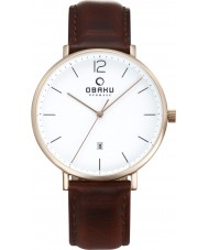 Obaku V181GDVWRN Mens Toft Watch