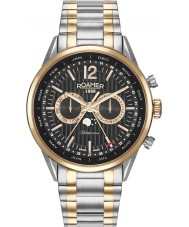 Roamer 508822-49-54-50 Mens Superior Business Two Tone Bracelet Multifunction Watch