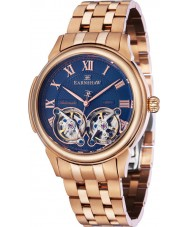 Thomas Earnshaw ES-8030-22 Mens Observatory Rose Gold Plated Bracelet Watch
