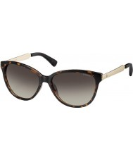 Polaroid Ladies PLD5016-S LLY 94 Havana Gold Polarized Sunglasses
