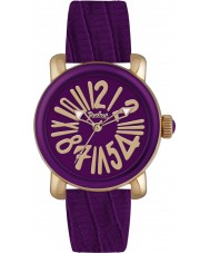 Pocket PK2000 Ladies Rond Classique Medio Purple Watch