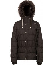 Protest Ladies Semmy True Black Snow Jacket