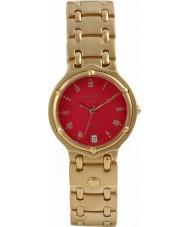 Krug Baümen 5119KM Mens Charleston Red Gold Watch