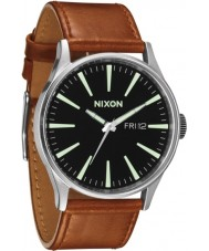 Nixon A105-2037 Sentry Black Saddle Watch