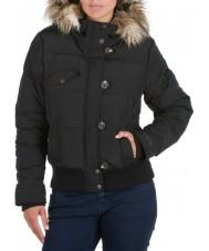 Animal CL3WC463-002-14 Black Banyo Jacket Full Zip - Size 14