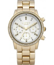 Lipsy LP168 Ladies White and Gold Bracelet Watch