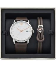 d36675fb972d01 Emporio Armani AR80006 Mens Watch and Bracelet Gift Set