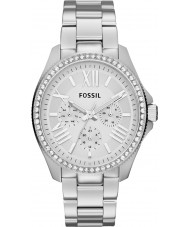 Fossil AM4481 Ladies Cecile Silver Steel Chronograph Watch