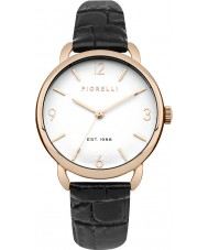 Fiorelli FO031BRG Ladies Black Leather Strap Watch