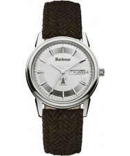 Barbour BB036SLHB Mens Gosforth Brown Fabric Strap Watch