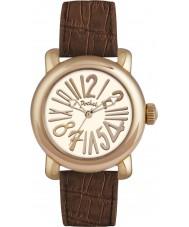 Pocket PK2002 Ladies Rond Classique Medio Brown Watch