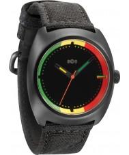 House of Marley WM-JA001-RA Mens Transport Rasta Black Watch