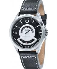AVI-8 AV-4006-01 Mens Hawker Harrier II Black Leather Strap Watch