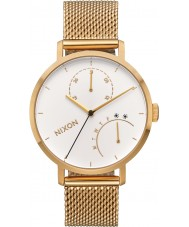 Nixon A1166-504 Ladies Clutch Gold Plated Bracelet Watch
