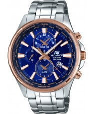 Casio EFR-304PG-2AVUEF Mens Edifice World Time Silver Steel Watch
