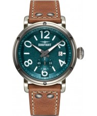 Dogfight DF0020 Mens Ace Brown Leather Strap Watch