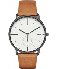 Skagen SKW6216 Mens Hagen Tan Leather Strap Watch