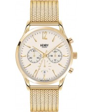 Henry London HL41-CM-0020 Mens Westminster Pale Champagne Hamilton Gold Chronograph Watch