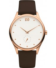 Danish Design V17Q1130 Ladies Brown Leather Strap Watch