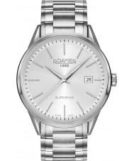 Roamer 508833-41-15-50 Mens Superior 3H Two Tone Steel Bracelet Watch
