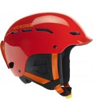 Cebe CBH126 Dusk Rental Junior Red Ski Helmet - 49-53cm