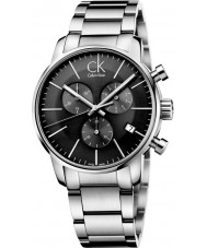 Calvin Klein K2G27143 Mens City Grey Silver Chronograph Watch