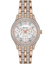 Bulova 98N113 Ladies Crystal Watch