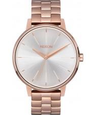 Nixon A099-1045 Ladies Kensington Rose Gold White Watch