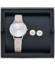 a777b2dddceca8 Emporio Armani AR80007 Ladies Watch and Earrings Gift Set
