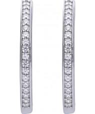 Diamonfire E5605 Ladies Pave Earrings