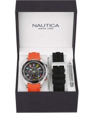 Nautica NAD18531G Mens NST Watch Gift Set