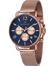 Thomas Earnshaw ES-8001-55 Mens Investigator Rose Gold Plated Chronograph Watch