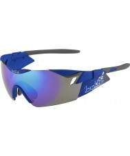Bolle 6th Sense S Matt Navy Blue-Violet Sunglasses