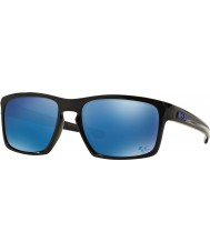 Oakley OO9262-28 Sliver Polished Black - Ice Iridium Sunglasses
