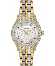 Bulova 98N112 Ladies Crystal Watch