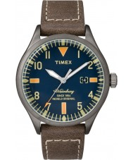 Timex TW2P83800 Mens Waterbury Brown Leather Strap Watch
