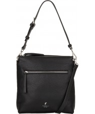 Fiorelli FH8682-BLACKMIX Ladies Elliot Black Casual Mix Satchel