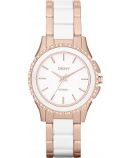 DKNY NY8821 Ladies Westside Ceramic White Rose Gold Watch