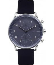 Zoom ZM-7148M-2503 Mens Refine Blue Black Watch