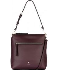 Fiorelli FH8508-PURPLE Ladies Elliot Aubergine Casual Cross Body Bag