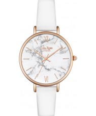 Lola Rose LR2022 Ladies White Leather Strap Watch