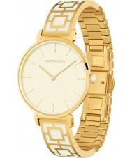 Halcyon Days HD4016 Ladies Maya Two Tone Brass Bracelet Watch