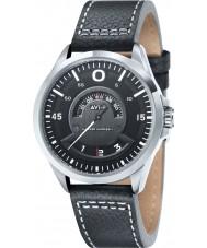 AVI-8 AV-4006-02 Mens Hawker Harrier II Black Leather Strap Watch