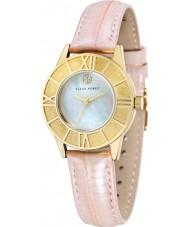 Klaus Kobec KK-10018-03 Ladies Agnes Baby Pink Icy Leather Strap Watch