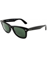 RayBan RB2140 Original Wayfarer Black - Green Polarized