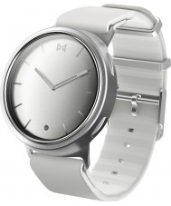 Misfit MIS5004 Phase White Silicone Watch Compatible with Android and iOS