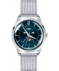 Henry London HL39-LM-0085 Knightsbridge Blue Silver Watch
