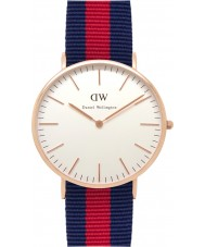 Daniel Wellington DW00100001 Mens Classic 40mm Oxford Rose Gold Watch