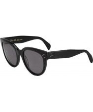 Celine Ladies CL 41755 807 3H Black Sunglasses