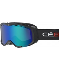 Cebe CBG112 Cheeky OTG Black and Red - Brown Flash Blue Ski Goggles